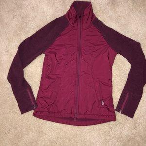 Prana Plum Red Audrina Jacket Full Zip Red/Purple